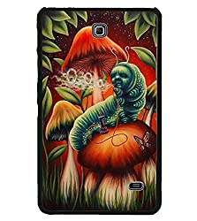 Aart Designer Luxurious Back Covers for Samsung Galaxy Tab 4 T231 + Flexible Portable Thumb OK Stand by Aart Store.