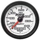 Auto Meter 7532 Phantom II 2-1/16 120-240 Degree F Mechanical Water Temperature Gauge