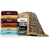 Concierge Collection Soft & Cozy Blanket Wine Burgundy Trim Full Queen NEW!
