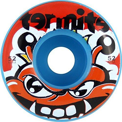 termite-skateboards-tommy-blue-skateboard-wheels-52mm-99a-set-of-4-by-termite-skateboards
