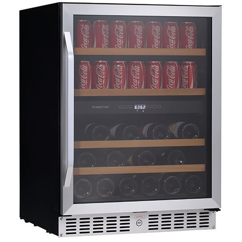 Sale!! EdgeStar 24 Inch Built-In Wine and Beverage Cooler