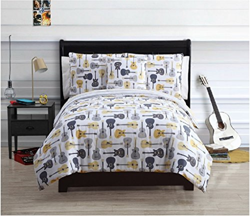 Artistic Guitar Bedding When You Don T Want Your Room To