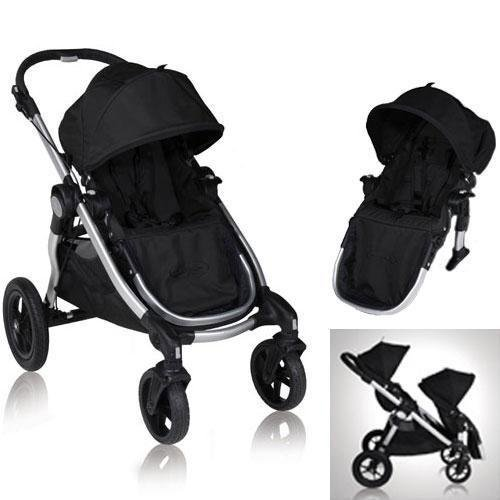 Baby Jogger City Select Stroller With 2Nd Seat Onyx front-845375