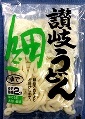 香川食品 常温 60個 讃岐細うどん ゆで1食