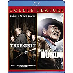 True Grit (2010) / Hondo Double Feature [Blu-ray]
