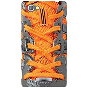 Sony Xperia M Back Cover - Shoe Laces Designer Cases