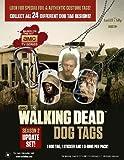 THE WALKING DEAD DOG TAGS SEASON 2 - Set of Five