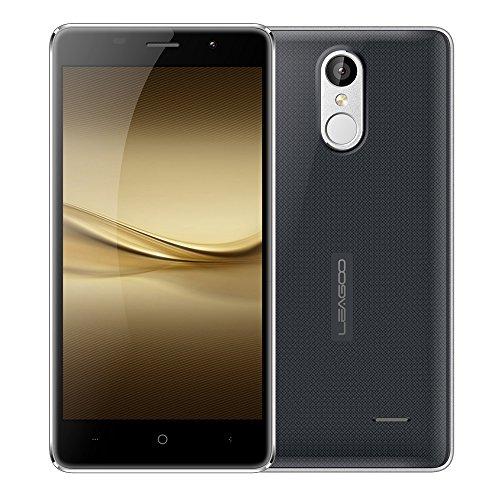 LEAGOO M5 スマートフォン 3G WCDMA MTK6580A 2.5D 5.0インチ HD 1280 * 720 スクリーン Android 6.0 2G+16G 5MP+8MP メタルフレーム 指紋認識 スマートジェスチャー ロックを解除