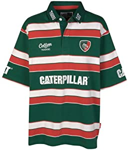 Leicester Tigers Kooga Home Classic Short Sleeved Rugby Jersey 2015-16