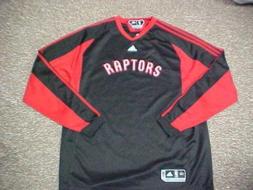 Jermaine O'Neal Toronto Raptors 2009 L/S Shooting Shirt  цены