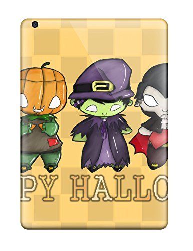 [Protective Tpu Case With Fashion Design For Ipad Air (happy Halloween Everyone Halowen Haloowen Hallooween Hallowen Haloween Costumes Party Decoratio Holiday] (Cheap Hallowen Costumes)