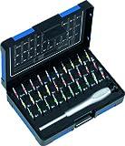 Heytec Heyco 50834000000 - Juego de destornillador y puntas para trabajos de mecánica de precisión