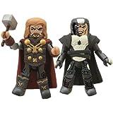 Diamond Select Toys Marvel Minimates: Thor 2: Series 53 Thor and Malekith Action Figure, 2-Pack