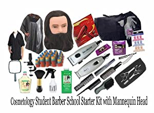 Amazon.com : Cosmetology Student Barber School Starter Kit w ...