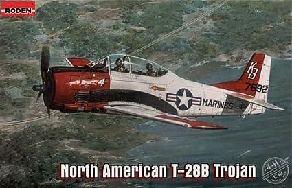 Roden 441 North American T-28B Trojan 1:48 Plastic Kit Maquette