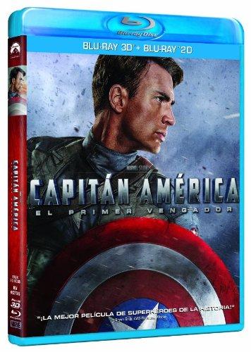 Capitán América: El Primer Vengador (Blu-ray