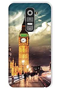 IndiaRangDe Printed Back Cover For LG G2 Multicolor
