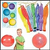 CCINEE 子供達 遊び用 最新の風船タイプ トーマスパンチバルーン Punch Balloons 50個入