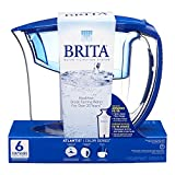 Brita Atlantis Water Filter Pitcher, Blue, 6 Cup- Discontinued By Manufacturer