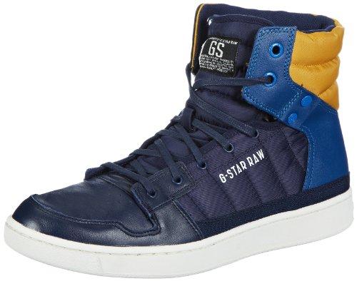 G-Star CORE II Spectrum Hi Tone High Mens Blue Blau (Navy Lthr & Textile w/Blue 4AB) Size: 7 (41 EU)