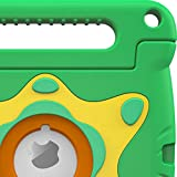iPad Air 2 Case, Apple iPad Air 2 Kids case, rooCASE ORB 360 Starglow Kid Friendly Drop Shock Proof Protective Lightweight Tough Armor Case Cover Convertible Carrying Handle Stand - Green