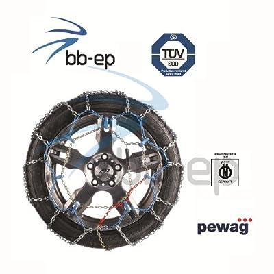 Pewag Schneekette Ring Automatik Empfohlen Fr Pkws Mit Heckantrieb Fr Die Reifengre - 20555- R16 - Tv Geprft -norm V 5117 von pewag