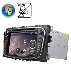 See Rungrace 7.0 inch Windows CE 6.0 TFT Screen In-Dash Car DVD Player for Ford Mondeo with Bluetooth / GPS / RDS Details