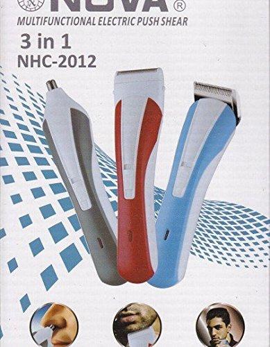 Nova Multifunctional Electric Push Shear 3 in 1 NHC-2012(Color may vary)