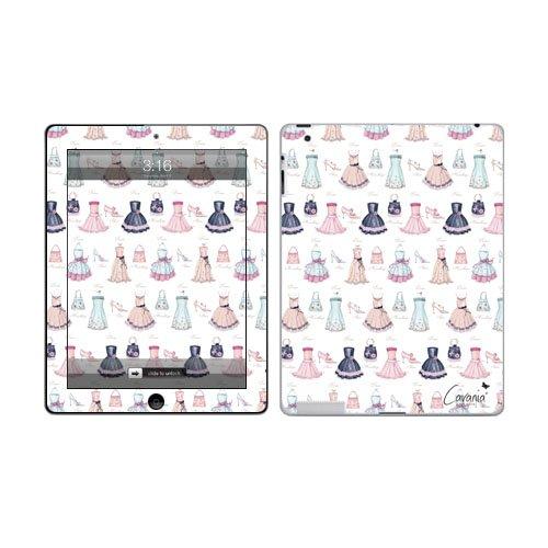 Diabloskinz - Skin adesiva in vinile per Apple iPad 2G, motivo: abiti e borsette