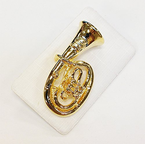 ART-OF-MUSIC-Anstecker-Tenorhorn-gross-Gold