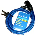 Blue Spot 70728 D15 x 800mm Strong Cable Lock