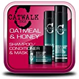 TIGI CATWALK OATMEAL & HONEY SHAMPOO + CONDITIONER + MASK