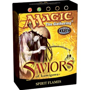 Buy Magic the Gathering MTG Saviors of Kamigawa Spirit Flames Theme Deck