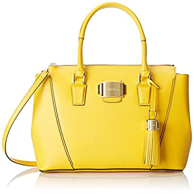 Calvin Klein Mercury Satchel Top Handle Bag