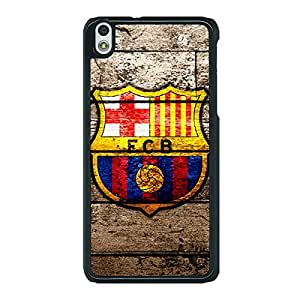 Jugaaduu Barcelona Back Cover Case For HTC Desire 816G