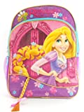 Disney Princess Rapunzel 16 inch School Girls Pink Backpack