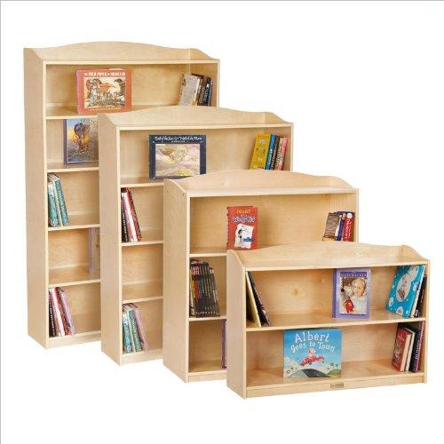 Ababy Guidecraft 5 Shelf Bookshelf front-655205