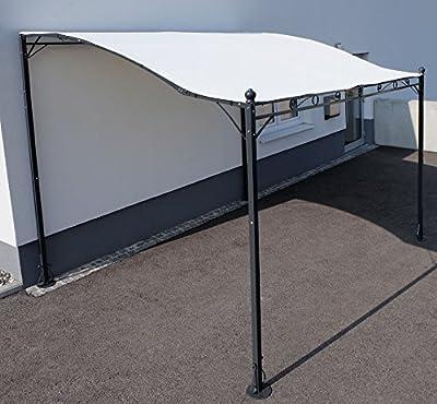 Wand Anbau Pavillon 3 x 2,5 Meter mit Dach Model Siena-7107 von AS-S von AS-S bei Gartenmöbel von Du und Dein Garten