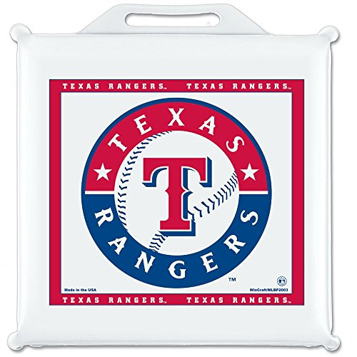 Texas Rangers Official Mlb 14 Inch X 14 Inch Seat Cushion front-745788