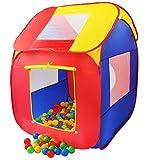 KIDUKU® Kinderspielzelt Bällebad Pop Up Spielzelt
