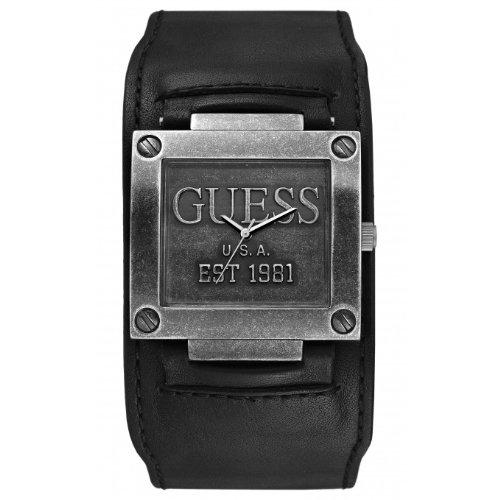 Guess W90025G2 - Orologio da polso uomo vintage