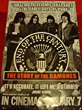 RAMONES END OF THE CENTURY 28 X 20 approx INCHES POSTER