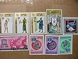 ルワンダ切手 『記念日各種/反人種差別』未使用 大型 13枚