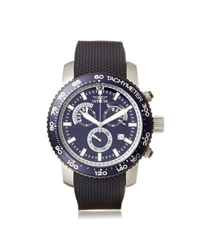 Invicta Men's 11292 Specialty Black/Blue Polyurethane Watch