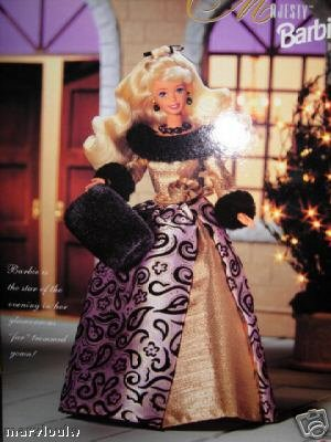 51libXWGofL Reviews 1996   Mattel   Evening Majesty Barbie   Special Edition   Evening Elegance Series   Out of Production   New   Collectible