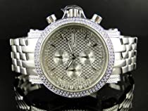 Icy New Mens Jojo/Jojino/Joe Rodeo Genuine Real Diamond Watch MJ1082