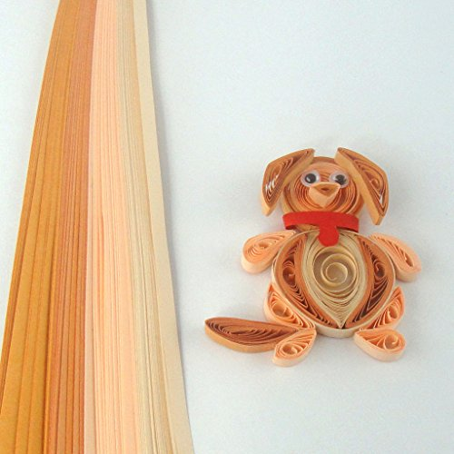 Quill On Quill On Tones of Khaki Quilling Strips, Khaki