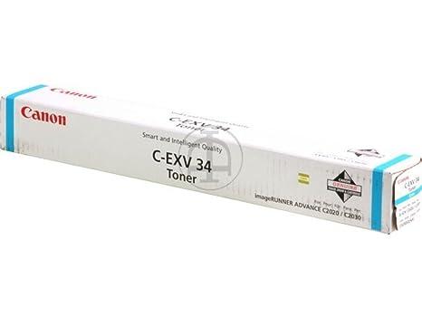 Canon Imagerunner C 2030 i (C-EXV 34 / 3783 B 002) - original - Toner cyan - 16.000 Pages