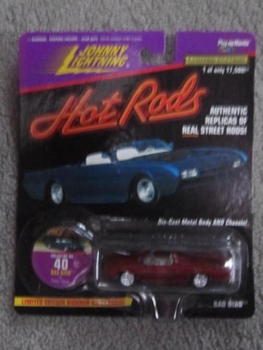 1997 Johnny Lightning Hot Rods #40 Bad Bird #14172 of 17,500 - 1