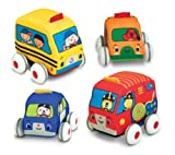 Picture Of <h1>Melissa &amp; Doug K&#8217;s Kids Pull-Back Vehicle Set</h1>